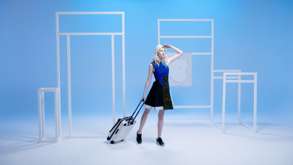 Preview image for a video called Model Mother Tongue: Ola Rudnicka directed by Daniel Brereton for iD Magazine