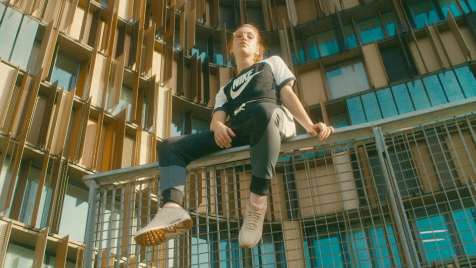 Preview image for a video called Walk the 90s directed by Federico Mazzarisi for Nike Air Max