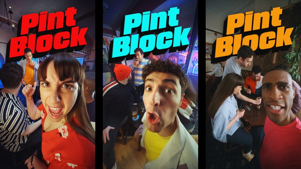 Preview image for a video called Pint Block directed by Youth Hymns for Department for Transport