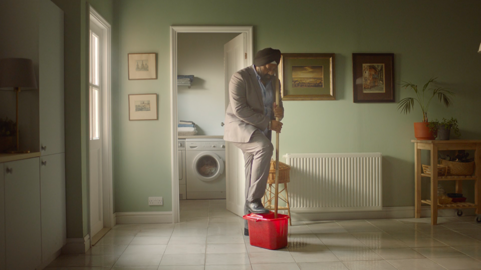 Preview image for a video called 'There's A Wipe For That' directed by Christopher Hill for Dettol